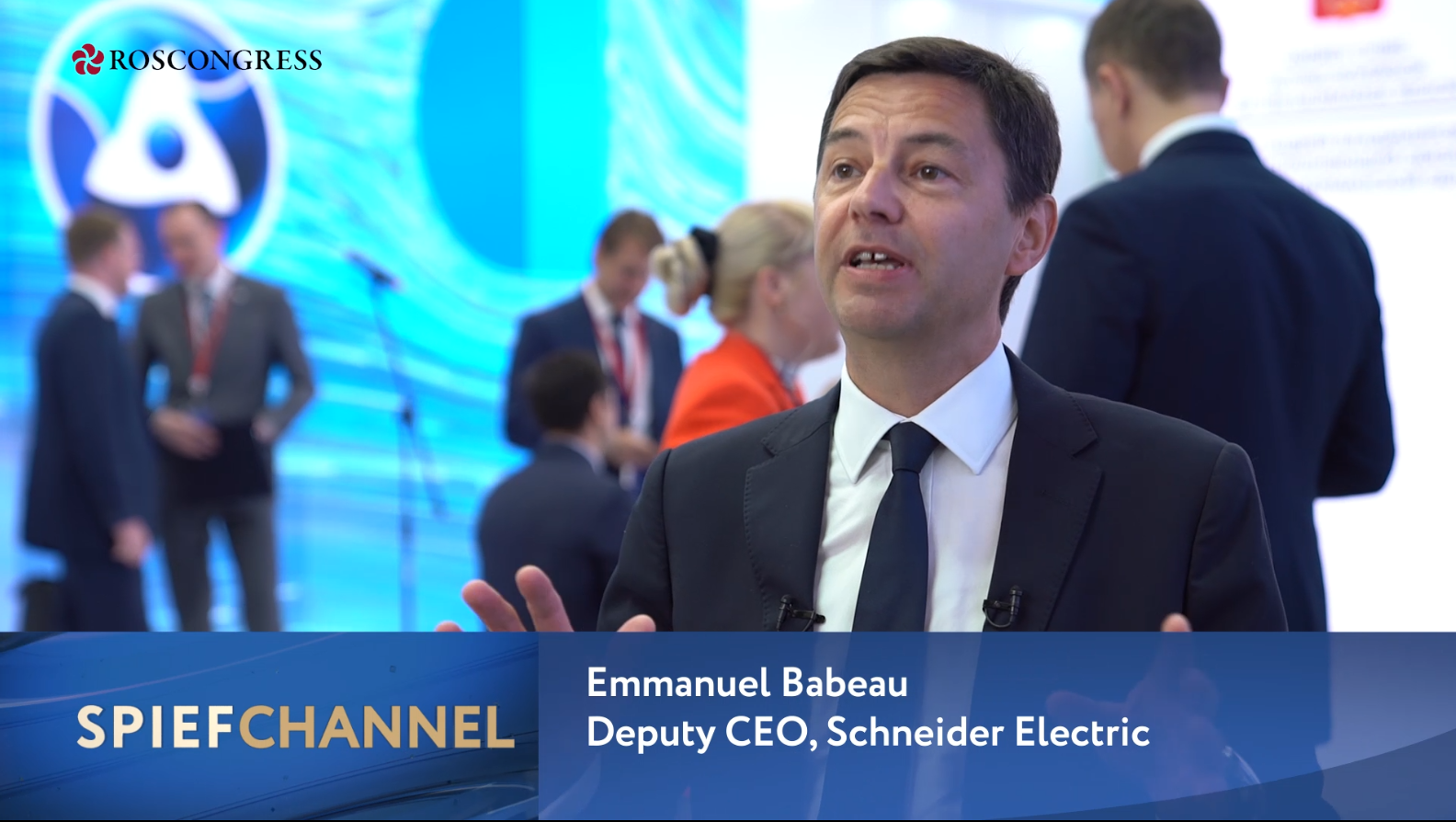 Emmanuel Babeau, Deputy Chief Executive Officer in charge of Finance and Legal Affairs, Schneider Electric