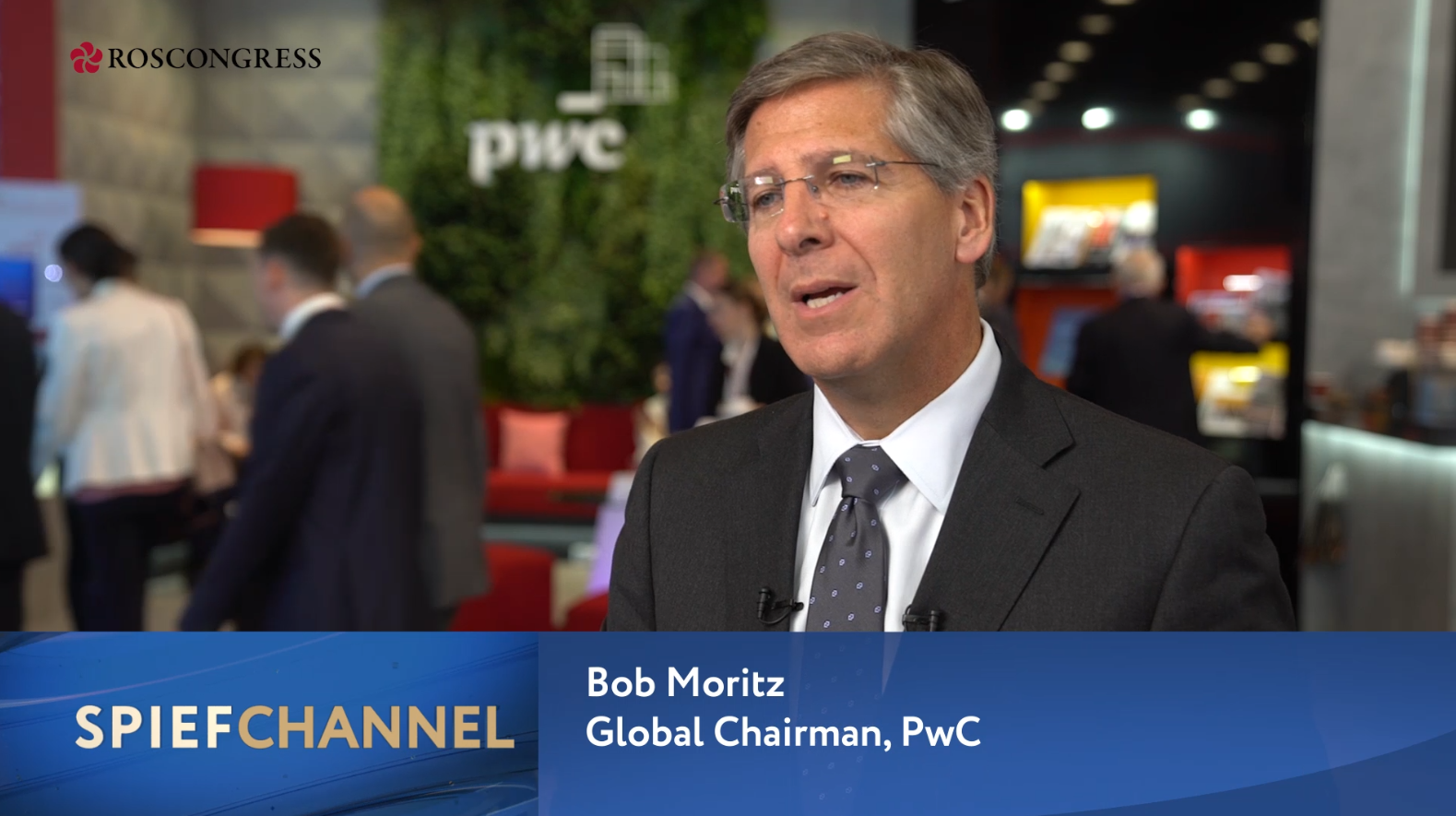 Bob Moritz, Global Chairman, PwC Global