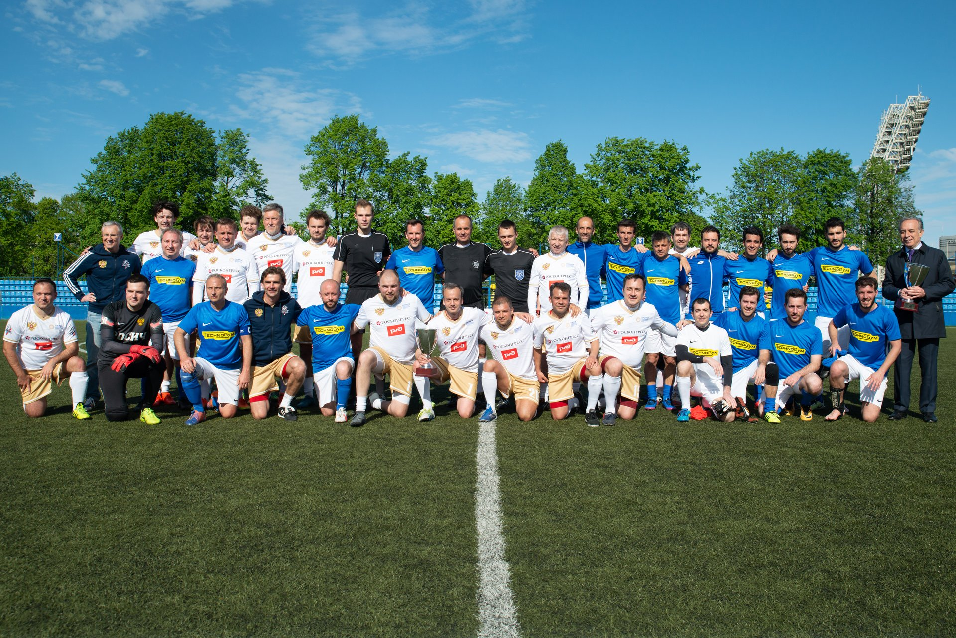 Russia – Italy Friendly Football Match Opens SPIEF 2018 Sporting Programme