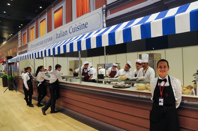 SPIEF Venue Will Feature World Cuisines