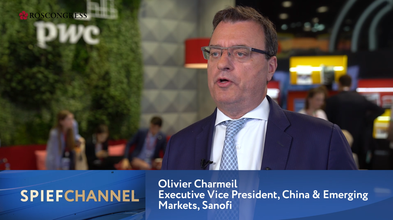 Olivier Charmeil, Executive Vice President, China and Emerging Markets , Sanofi