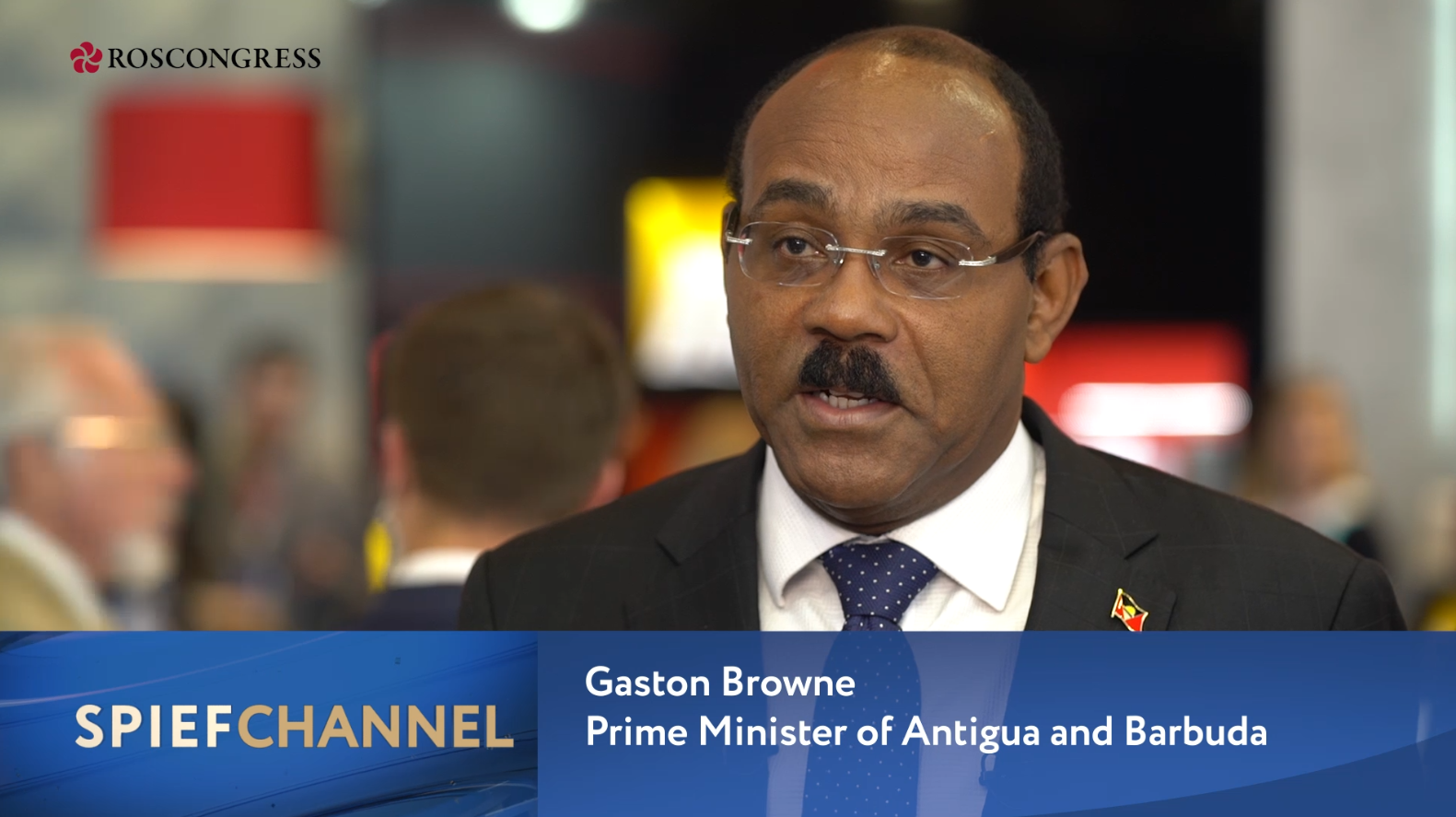 Gaston Browne, Prime Minister of Antigua and Barbuda