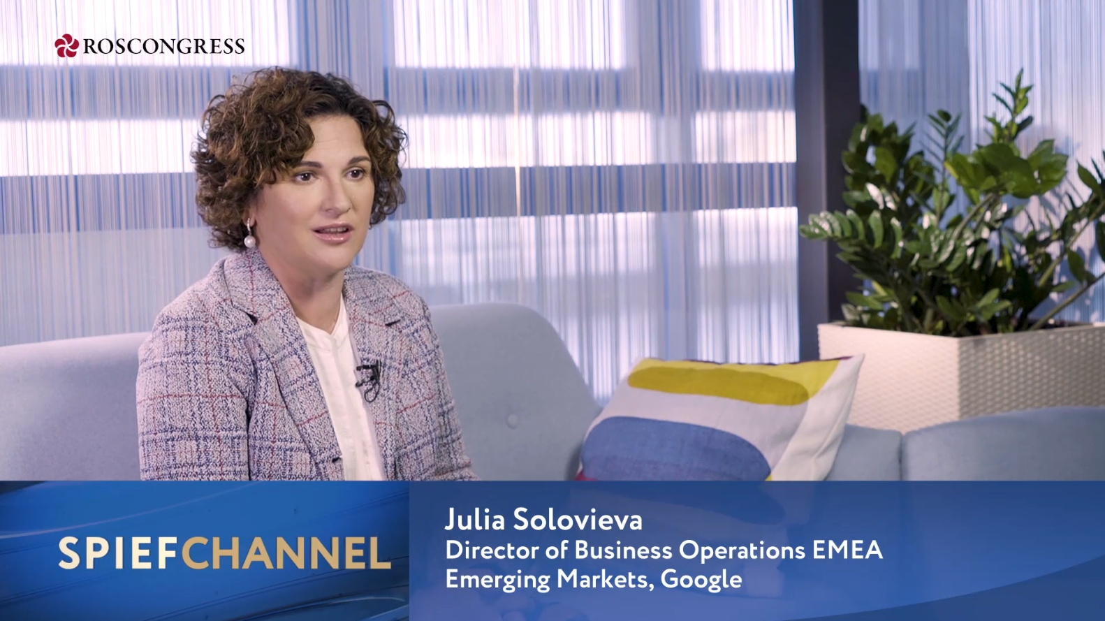 Julia Solovieva,Director Business Operations EMEA Emerging markets, Google