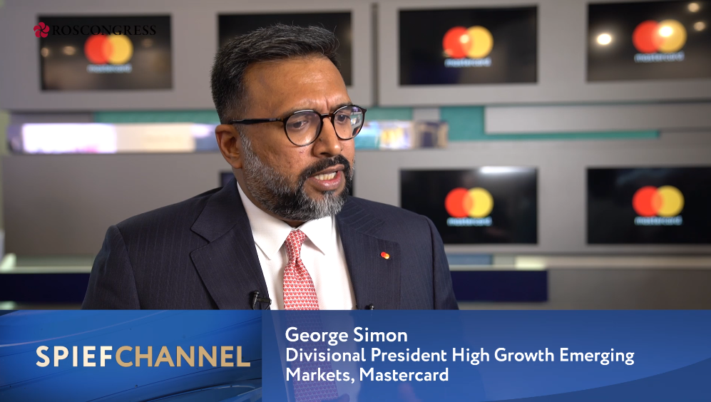 George Simon, Division President, High Growth European Markets, Mastercard