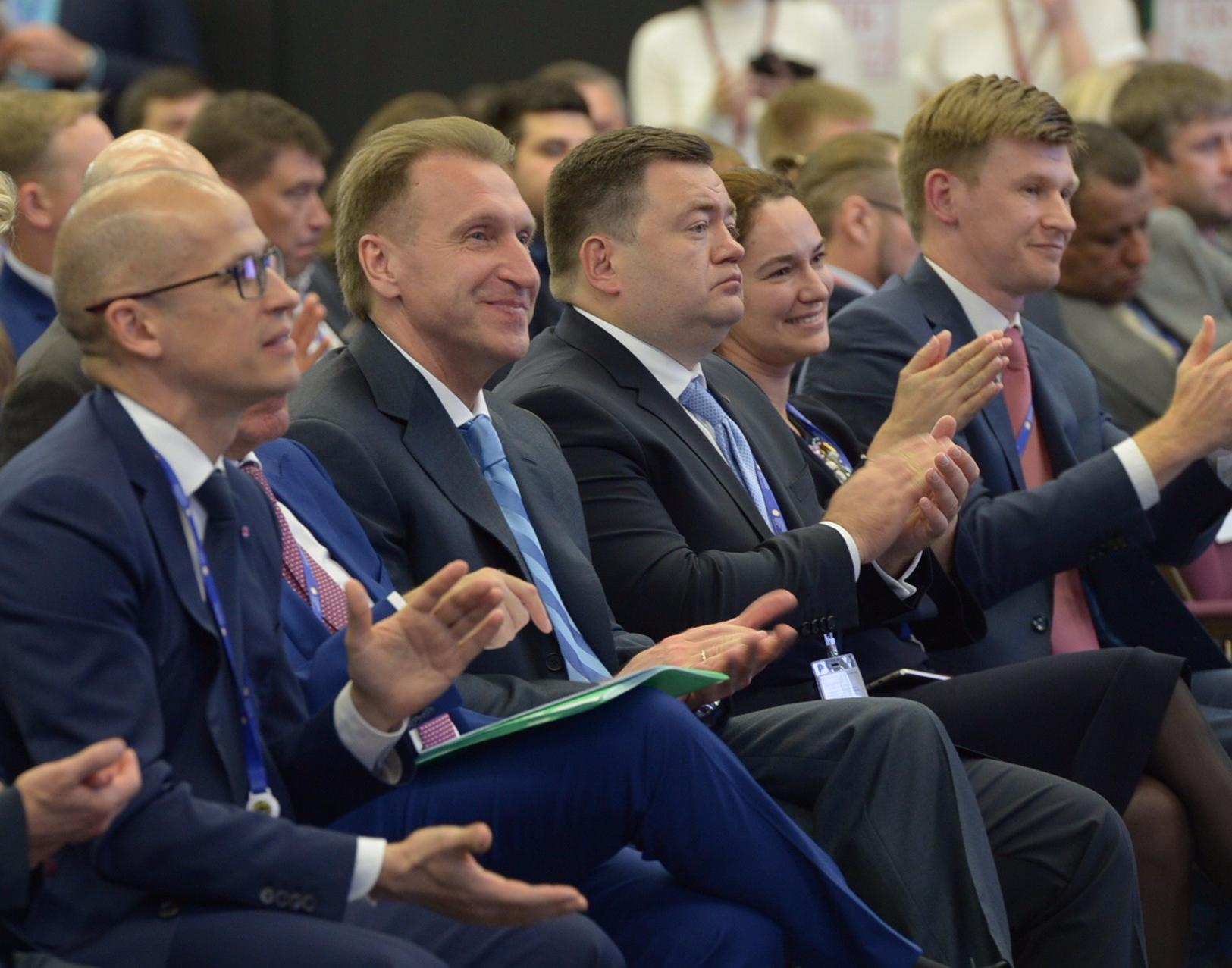 The third Russian Small and Medium-sized Enterprises Forum was held on the eve of the St. Petersburg International Economic Forum