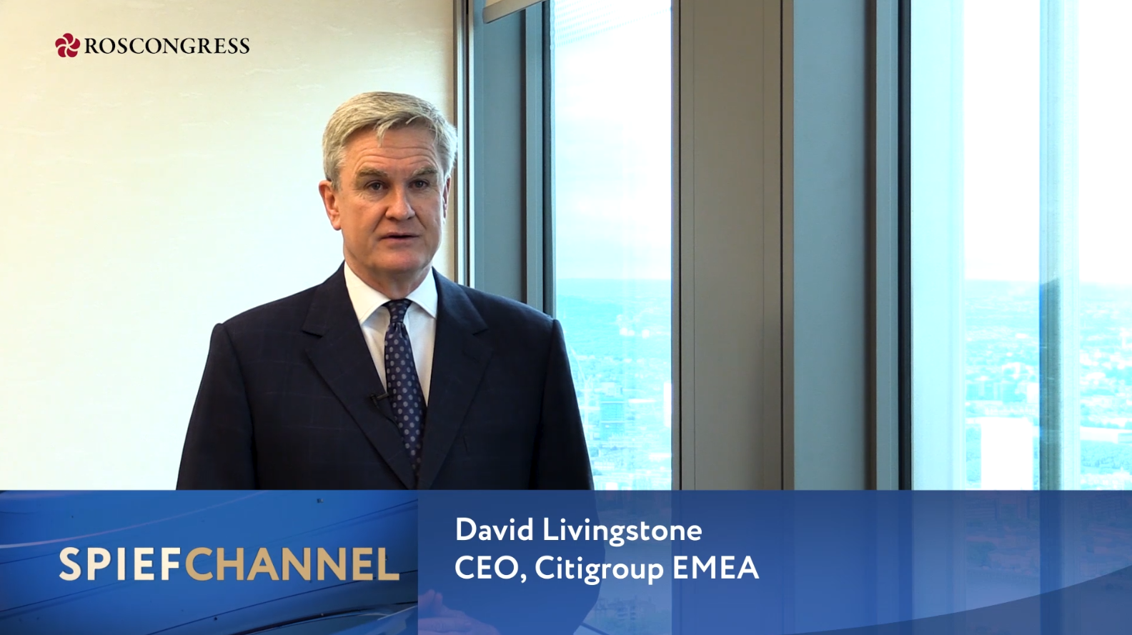David Livingstone, CEO, Citigroup EMEA