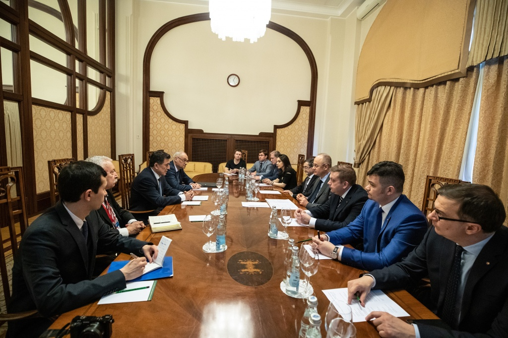 During their meeting in Moscow, the officials discussed the action plan for Russia's chairmanship of the SCO in 2019–2020.