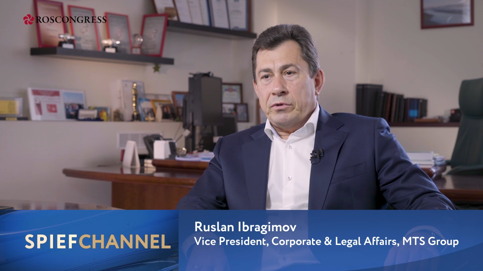 Ruslan Ibragimov, Vice President for Corporate and Legal Affairs, MTS PJSC