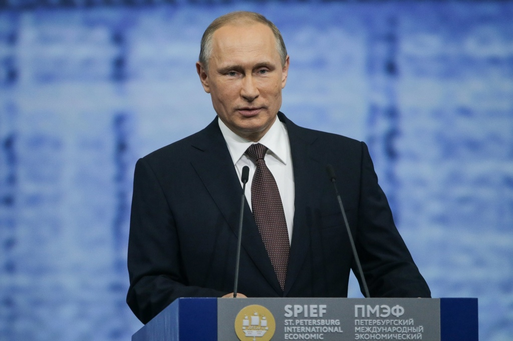 Vladimir Putin Sends Greetings to SPIEF Participants