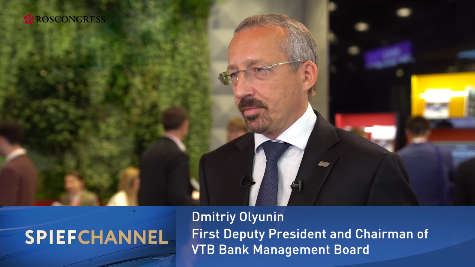 Dmitry Olyunin, First Deputy President and Chairman of  Management Board, VTB Bank