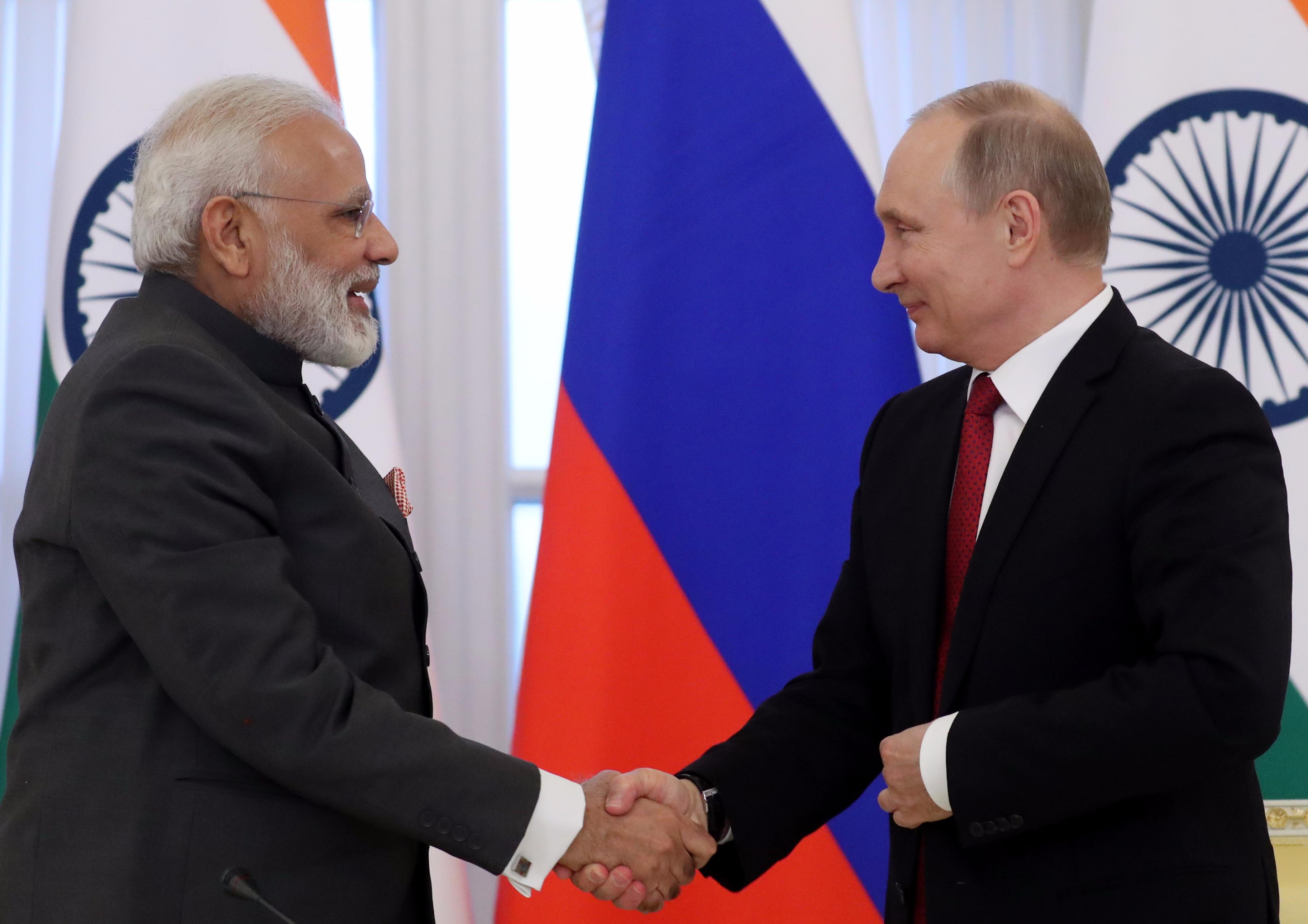 Meeting with Indian Prime Minister Narendra Modi