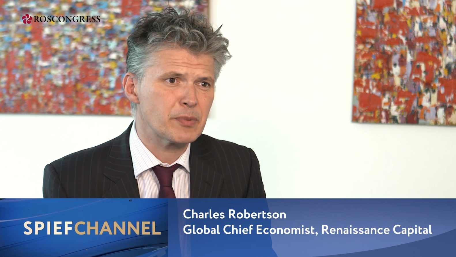 Charles Robertson, Global Chief Economist, Renaissance Capital