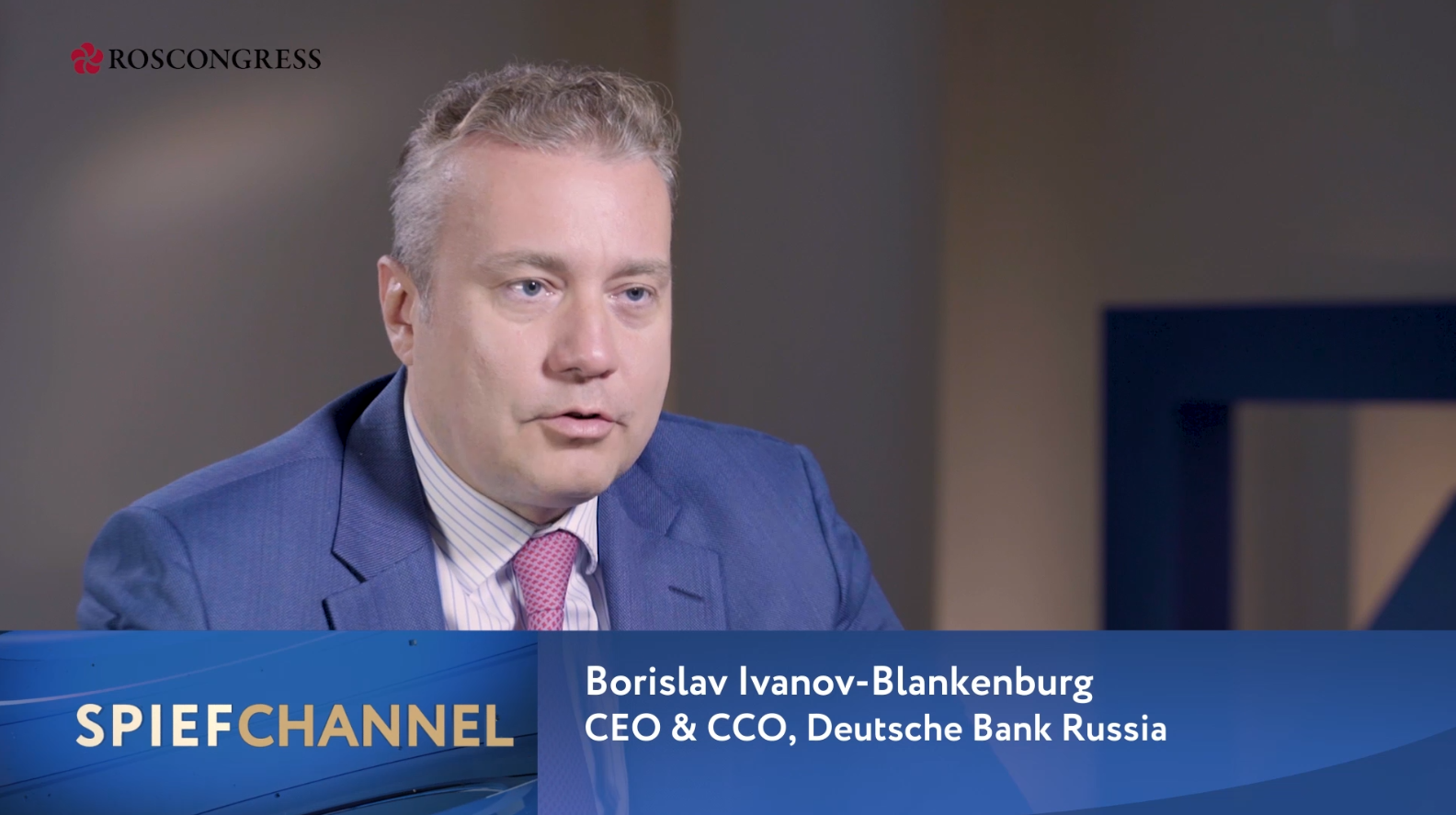 Borislav Ivanov-Blankenburg, CEO & CCO, Deutsche Bank in Russia