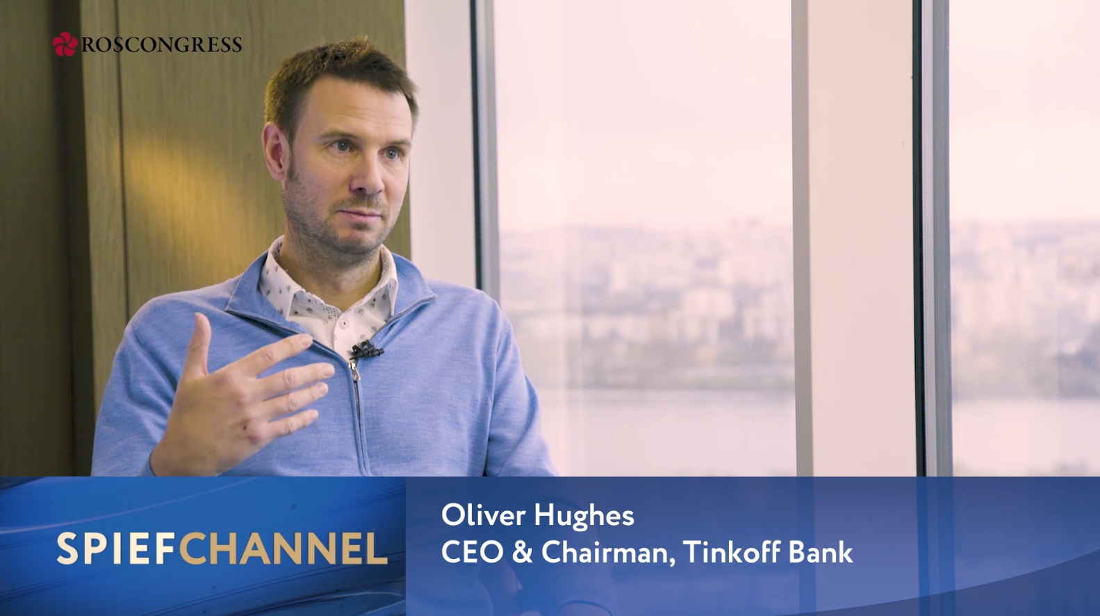 Oliver Hughes, CEO, Tinkoff Bank
