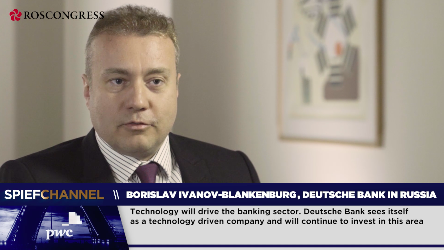 Borislav Ivanov-Blankenburg, Chairman of the Board, Deutsche Bank in Russia