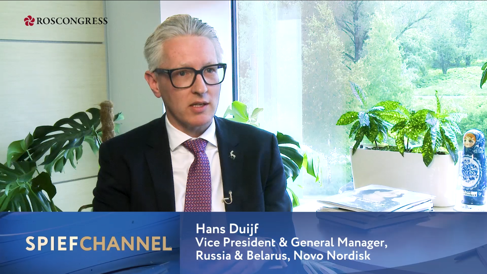 Hans Duijf, Vice President, Russia, Novo Nordisk