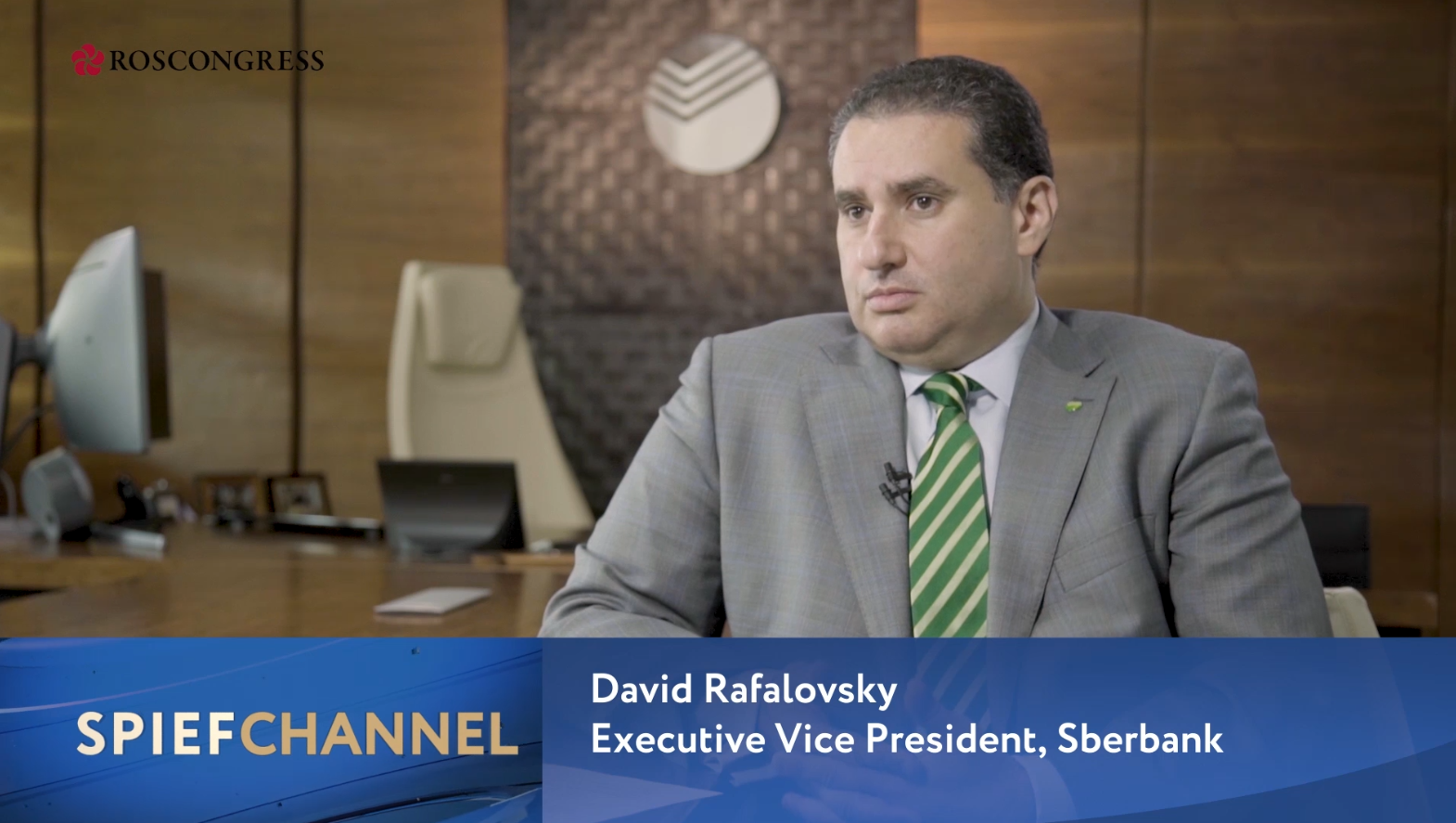 David Rafalovsky, Executive Vice President, Head of Technology Block, Sberbank; Chief Technology Officer, Sberbank Group