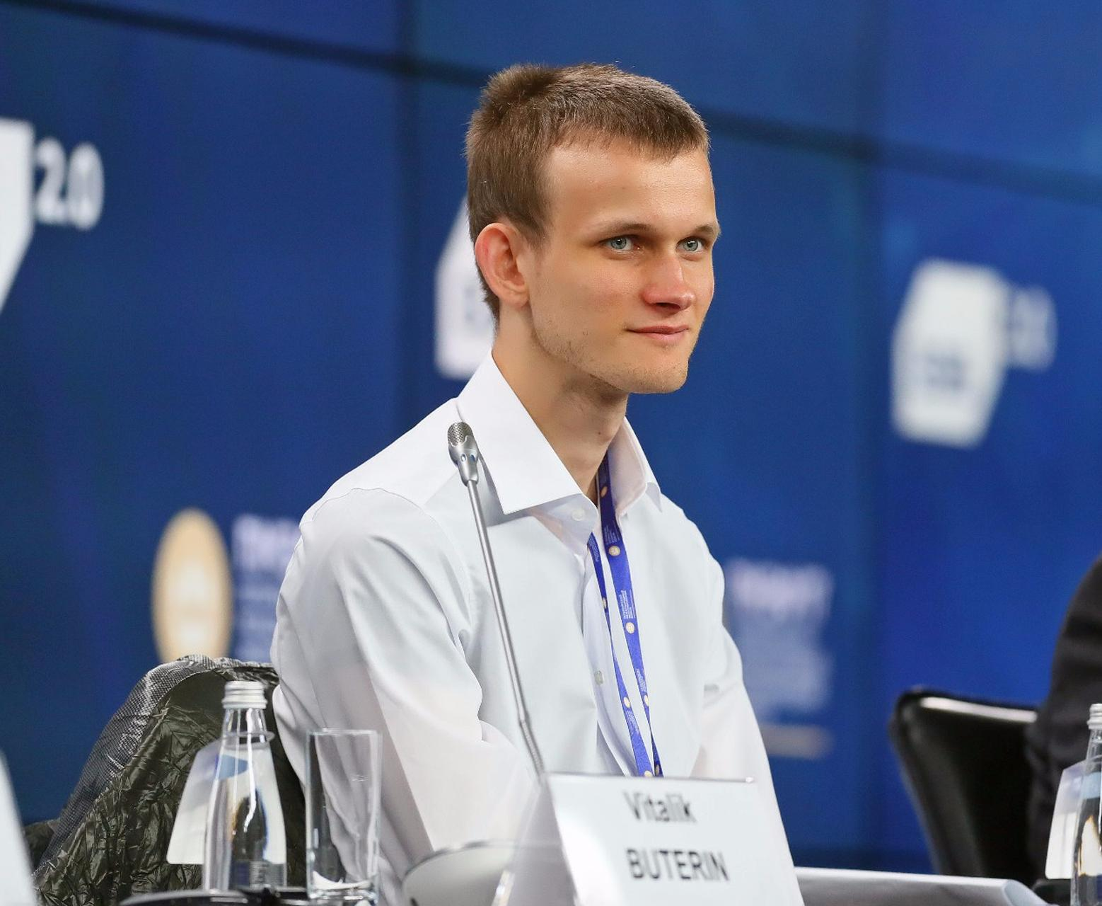 Meeting with founder of Ethereum project Vitalik Buterin