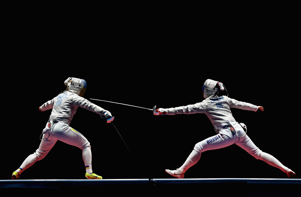Sabre fencing match between the women's national teams of Russia and France will take place at the St. Petersburg International Economic Forum