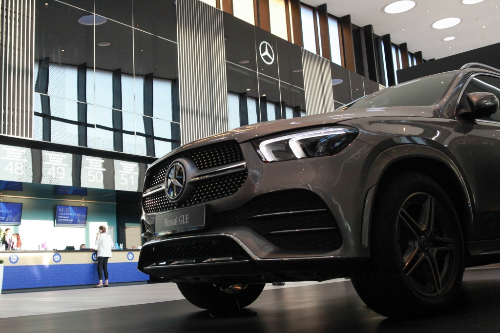 Mercedes-Benz Presents New Electric Vehicle at SPIEF