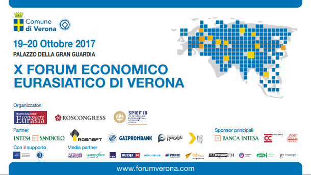 X Eurasian Economic Forum in Verona expands to include more countries and companies