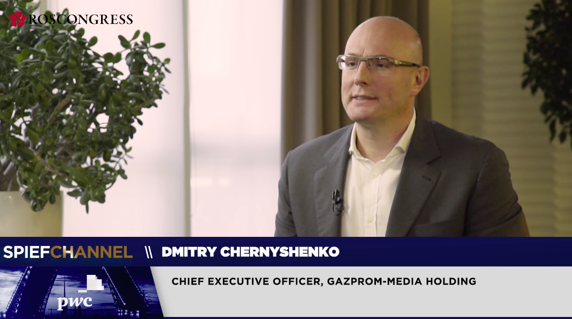 Dmitry Chernyshenko, Chief Executive Officer, Gazprom-media Holding