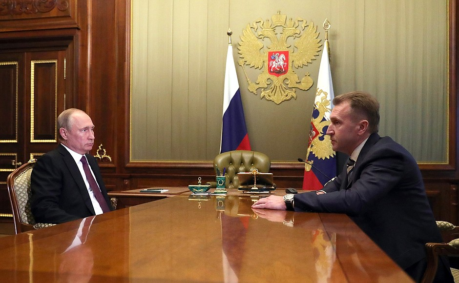 Meeting with Igor Shuvalov